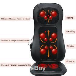 Shiatsu Coussin De Massage Avec La Chaleur Full Back Seat Massager Pour Voiture Et Canapé Chaise
