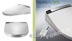 Siège De Toilette Numérique Pour Bidet Électrique Télécommandé Novita, Étiquette Anglaise