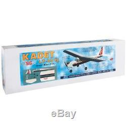 Sig Kadet Lt-40 Trainer Rc Avion Télécommandé Gp Ep Arf Sigrc67egvarfg