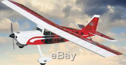 Sig Kadet Principal Sport Rc À Distance Formateur Avion Arf Contrôle Rouge Sigrc96egarfr