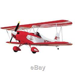 Sig Smith Miniplane Biplan Remote Control Rc Avion Balsa Kit Sigrc38
