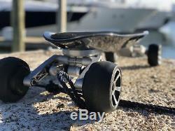 Silver Hawk Emoto USA Longboard Électrique Rapide Forte F Carbone Contrôlé À Distance