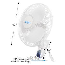 Simple Clip Deluxe Sur Le Ventilateur Ou Support Mural Oscillate Ventilateur Numérique Pour La Maison Cultivez Tente