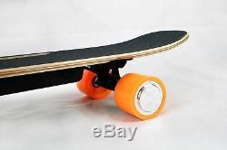 Skateboard Électrique Longboard Skate Bluetooth Longboard Télécommande Sans Fil