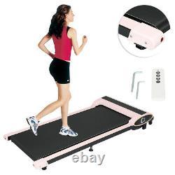 Sous Desk Electric Treadmill Walking Pad Home Exercise Machine Télécommande