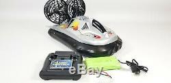 Super Rc Hovercraft Radio Télécommande Jouets Bateau De Vitesse Rc Cadeau Double Moteur Rtr