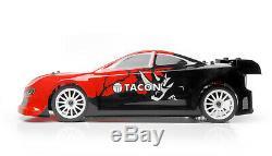 Tacon 1/10 Traqueur Sur Route Balai Rc Car Rtr Distance Race Car Control Lipo Bat