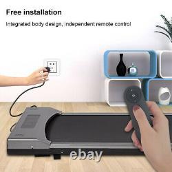 Tapis Roulant Électrique Home Office Walking Pad Cardio Running Machine Uk Plug Remote