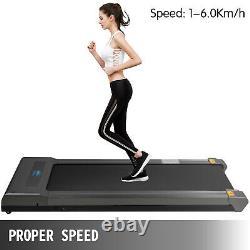 Tapis Roulant Électrique Sous Tapis Roulants De Bureau Fitness Running Cardio Withremote Control