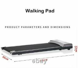Tapis Roulant Électrique Walking Pad Running Machine Fitness Exercise Cardio Home Gym