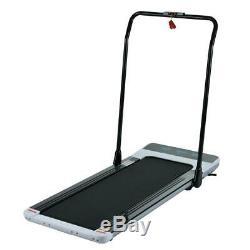 Tapis Roulant Pliant Électrique Intelligent Marche Pad Portable Gym Cardio Excercise Blanc