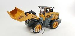 Télécommande Digger Rc Enfants Noël Toy Pelle Camion Contrôlée Construction
