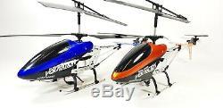 Télécommande Énorme Métal Rc Syma 9053 Volitation Alliage 3ch Gyro R / C Hélicoptère