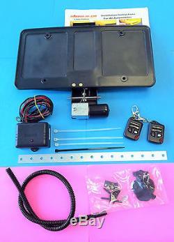 Télécommandes Rétractables Pour Plaque D'immatriculation Électrique 400eu Roush Electric