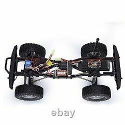 Tgb Rc Crawler 1/10 Roche Échelle 4wd 4x4 Off Road Avec Télécommande Étanche