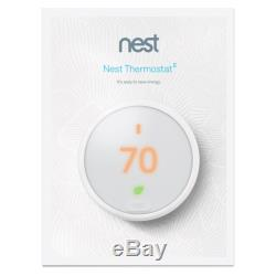 Thermostat Nest E T4001es Blanc Withbase Thermostat