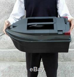 Tl-380b Rc Pêche Bateau Bait 3kg Charge Du Corps Double Crochet D'alimentation Rc Bait Bateau Noir