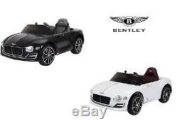 Tour Électrique À 12v Bentley Exp12 Officiel Enfants Car + Contrôle Parental À Distance