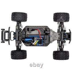 Traxxas 67076-4 Rustler 4x4 VXL Off Road Electric Remote Control Rc Car, Vert