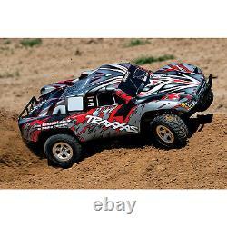 Traxxas Slash 4x4 Short Course À Distance Rc Camion De Contrôle, 2rm, Échelle 1/10, Rouge