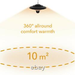 Trotec Chauffage Au Plafond Ir 1500 Sc Infrarouge Rayonnante Chauffage Patio Radiateur