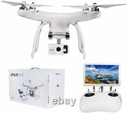 Upair One G10 Hd Grande Télécommande Gps Drone Avec Caméra 7 Pouces Fpv Écran