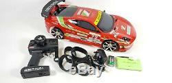 Vente Micro Télécommande Rc Drift 4 Roues Motrices Modèle De Voiture De Course Toyota Supra Turbo Trd Faf
