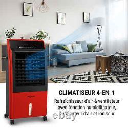 Ventilateur De Refroidisseur D'air Portatif Purificateur D'humidificateur De Conditionnement Maison 2000w 65w Rouge