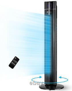 Ventilateur De Tour De Refroidissement D'oscillation Puremate De 43 Pouces Avec Fonction D'arôme De Purificateur D'air