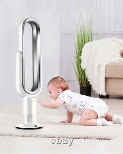 Ventilateur De Tour Sans Lame Avec Télécommande Air Flow Cooling Home Office Ventilateurs