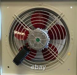 Ventilateur Industriel D'extraction Axiale Métallique Commerciale, Ventilation Par Soufflage D'air