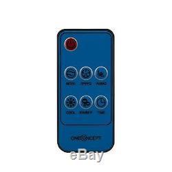 Ventilateur Portatif Climatiseur 3in1 Refroidisseur Ioniseur Télécommande Minuterie 8 Litres