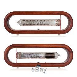 Vintage / Iv-18 Vfd Nixie Tube Clock Alarme Tomate Wifi Timing Télécommande