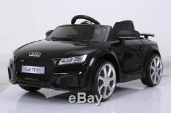 Voiture De Jouet Télécommandée Pour Enfants Électriques Audi Ttrs 12v Sous Licence