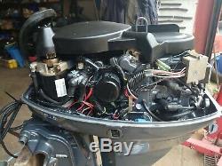 Yamaha 25hp 4 Temps Démarrage Moteur Hors-bord Électrique Garniture De Puissance De Commande À Distance